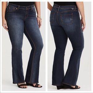 TORRID SOURCE OF WISDOM Slim Boot Jeans 24 TALL
